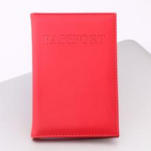 OKOKC cute Candy PU paszport obejmuje Travel Passport Case wielofunkcyjny karty kredytowej pakiet ID Holder Akcesoria podróżne tanie tanio Stałe Q0033 9 8 cm W OKOKC Pokrowce na paszport Masz 14 2 cm 3 cm
