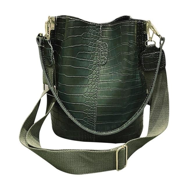 Retro Vintage Tote Bag PU...