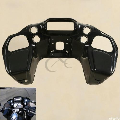 Motorcycle Unpainted Injection ABS Inner Fairing For Harley Road Glide FLTR Custom 1997-2013 Black