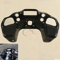 Motorcycle Unpainted Injection ABS Inner Fairing For Harley Road Glide FLTR Custom 1997 2013 Black