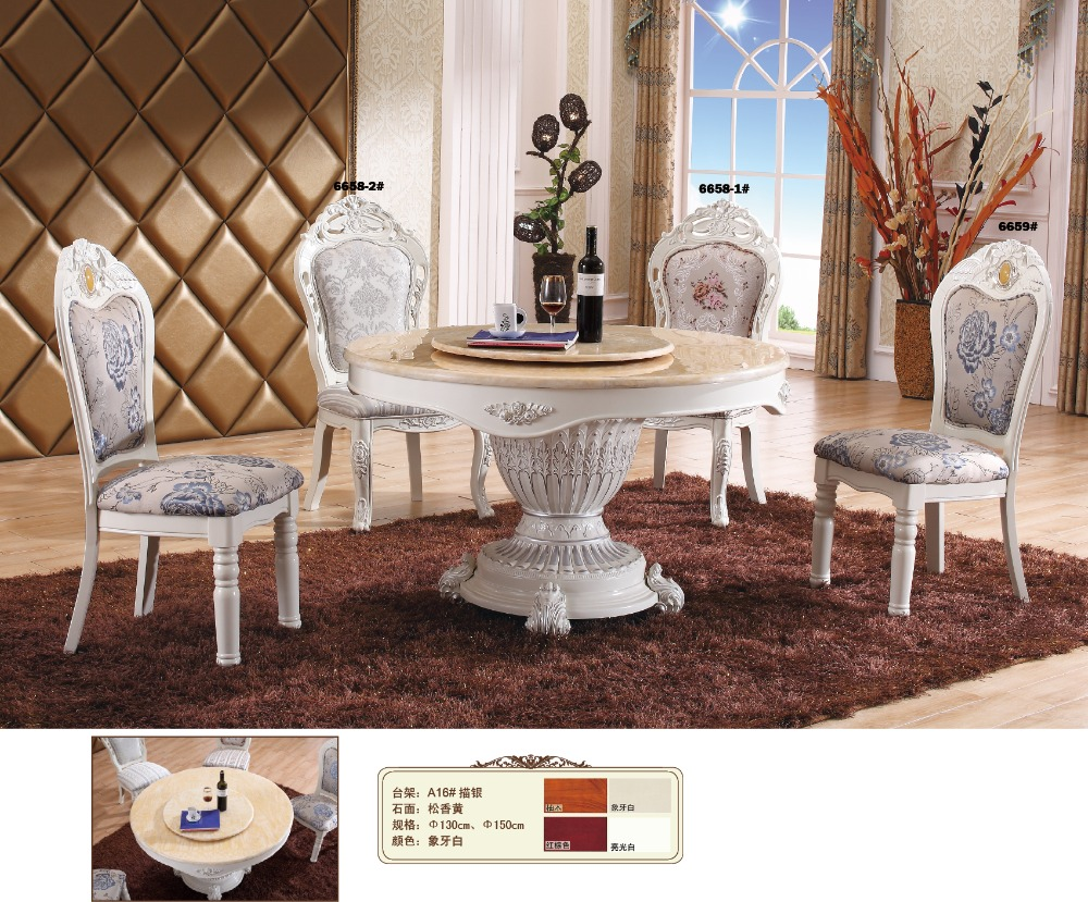 Glass Table Eettafel Special Offer Antique Wooden No Mesa Iron Furniture Design 2016 French Style Marble Top Dinning Table A16