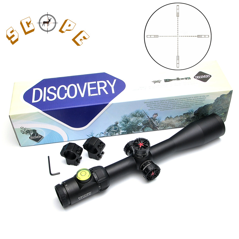Discovery HI 5-20x44 SF Tactical Rifle Scopes With Hawke 1/2 Mil Dot Reticle Long Eye Relief Rifle Scope For Air Soft Rifle ковш 1 5 л discovery 916194