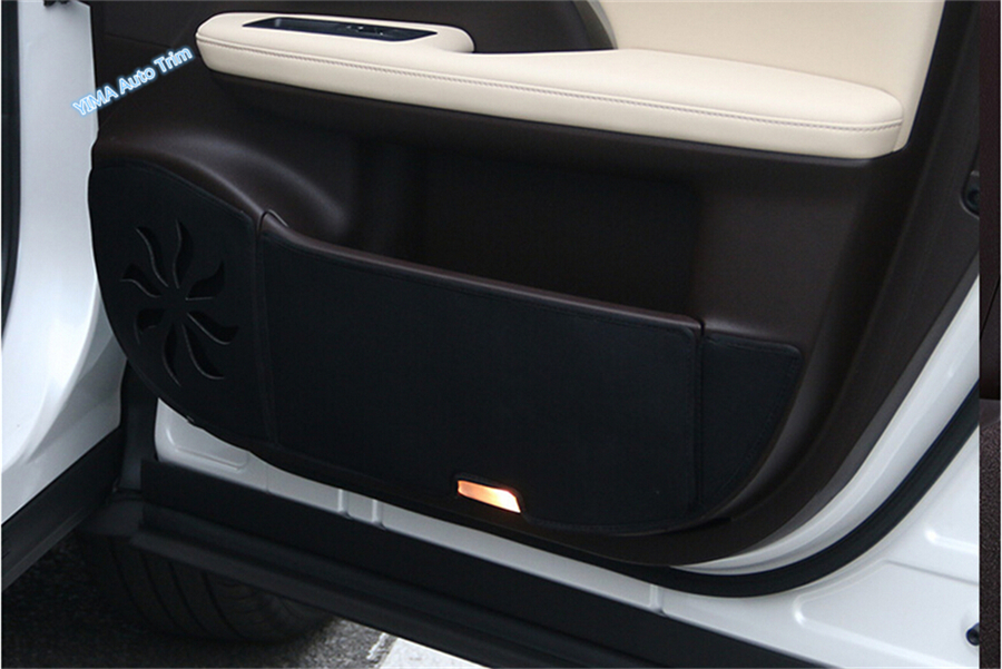 Accessories For Lexus RX200t RX450h 2016 2017 2018 Inner Door Protection protective pad kick pad Cover Interior Trim / 2 Color interior vent outlet cover trim 7pcs for lexus rx200t rx450h 2016 left hand drive car