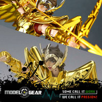 S Temple MC Metal Club Model Saint Seiya Sagittarius Aiolos Myth Cloth Gold Ex Metal Armor