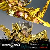 S Temple MC Metal Club Model Saint Seiya Sagittarius Aiolos Myth Cloth Gold Ex Metal Armor