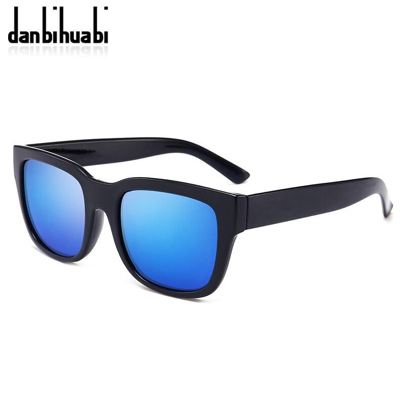 Danbihuabi классические солнцезащитные очки Для мужчин очки черная рамка Рыбалка вождения очки мужские солнцезащитные очки 2018 UV400 Ретро Oculo