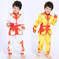 Popular Boys Performance Clothing Chinese Traditional Style Kung fu Sets Kids Stage Dance Martial Arts Clothing Suit