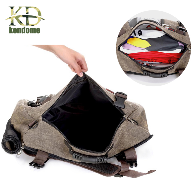 Hot Outdoor Sports Travel Large Capacity Backpack Male Luggage Shoulder Bag Computer Backpacking Men Functional Versatile Bags