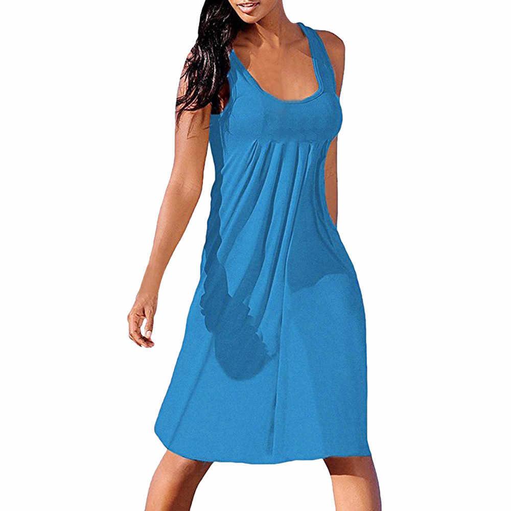 ผู้หญิงชุดผู้หญิงฤดูร้อนเซ็กซี่แขนกุดธรรมดาสบายๆชุดมินิ ropa mujer vestidos de fiesta de noche # yl