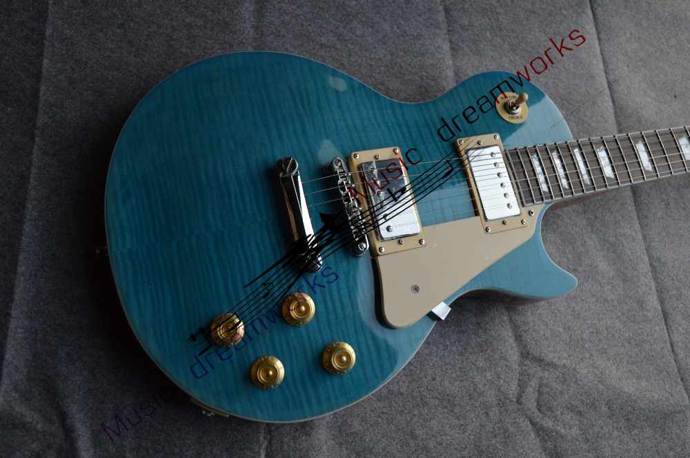 China OEM shop firehawk LP G electric guitar can be custom-made quality first  blue and The original wood color be first bcaa be first 2 1 1 powder 250гр
