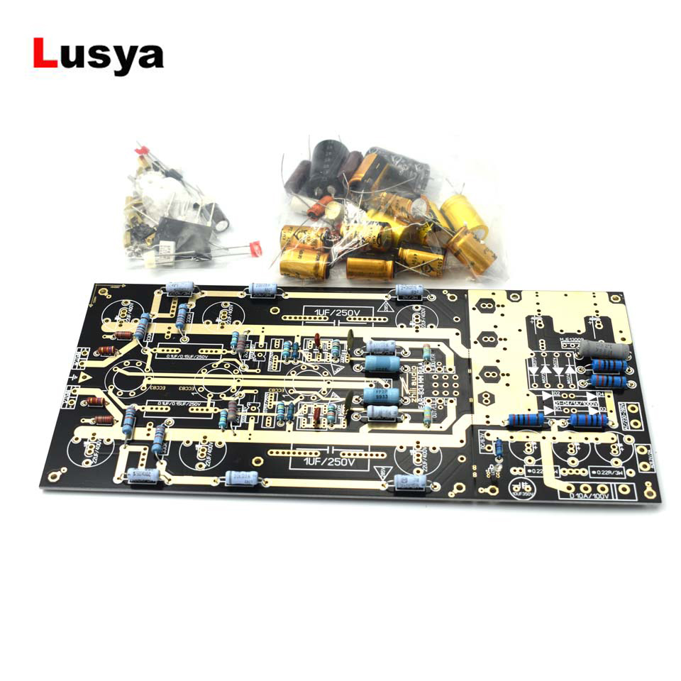 Ear834 Tube Phono Amplifier Stereo Amp DIY KIT Ear834 Audio HiFi Tube Professional Amplificador