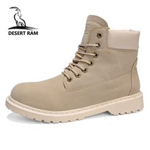 Брендовые мужские ботинки в стиле Дезерт рам, мужские зимние ботильоны  timber ly Martins, ковбойские eefb95f49e6