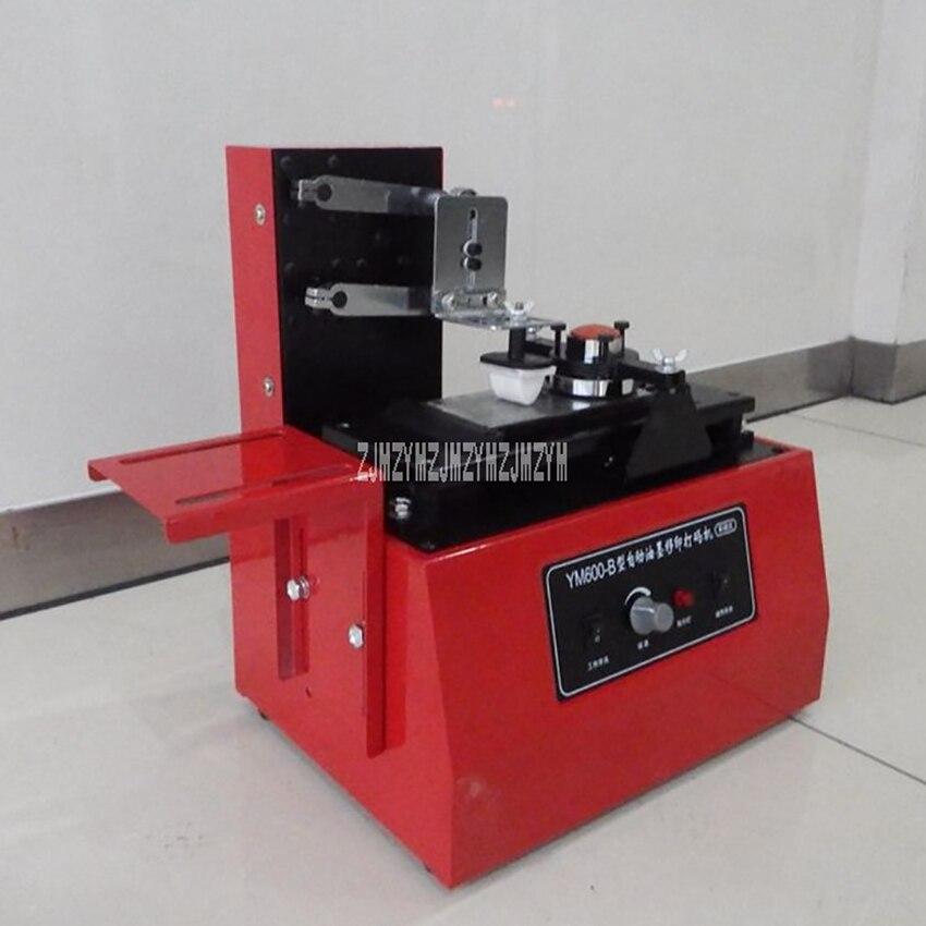 YM-600B elektryczna podkładka pod drukarkę typ ochrony środowiska drukarka atramentowa maszyna do tampondruku do drukowania daty produkcji