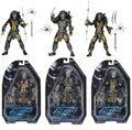 "NECA AVP Temple Guard Predator Ancient Warrior Predator Masked Scar Predator PVC Action Figure Toy 7"" 18cm KT2290"