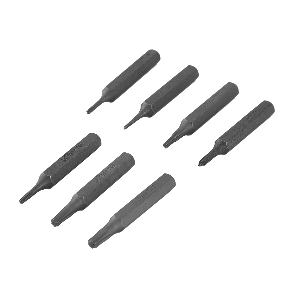 4mm 1/8 Inch Hex Shank S2 Alloy Steel Screwdriver Bit Set Phillips Slotted Torx Hex for ES120 Electric Screwdriver ES-A7 ES-B7 6pcs 50mm slotted screwdriver bits set 2mm 6mm s2 alloy steel magnetic flat head slotted tip nozzles for screwdrivers bit set
