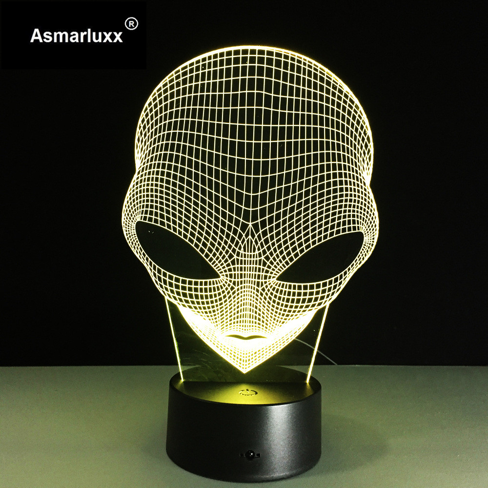 Asmarluxx 3d led lamp9015