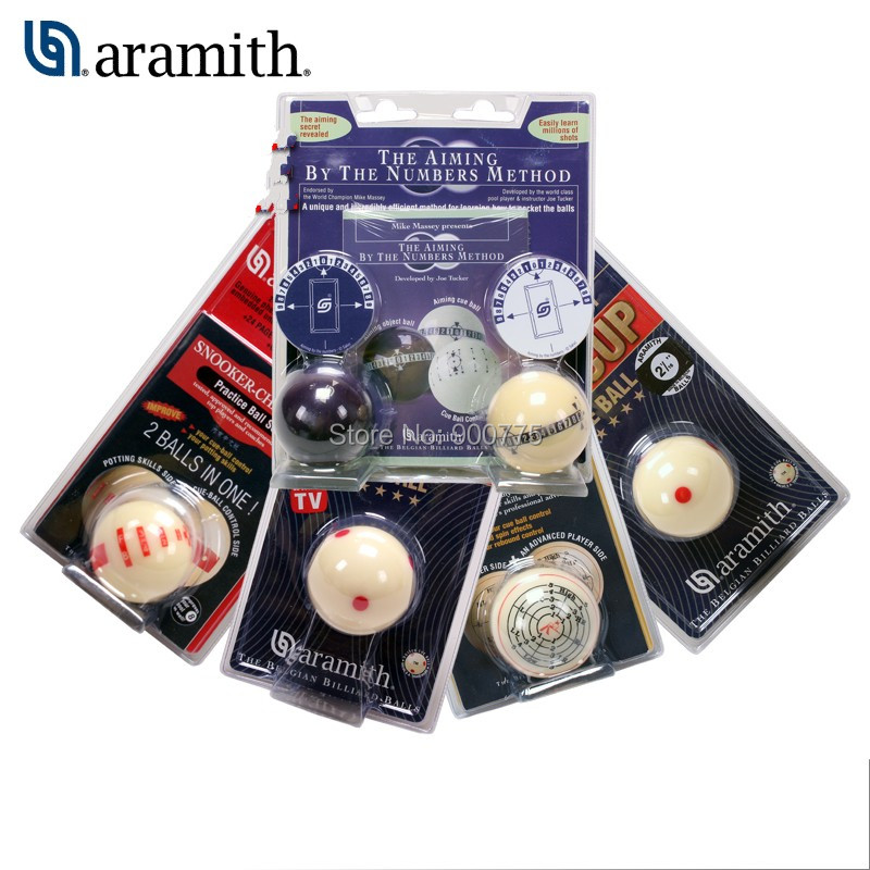 Aramith Special Pool Snooker training ball Practice ball 52 5 mm 57 5 mm billiard cue