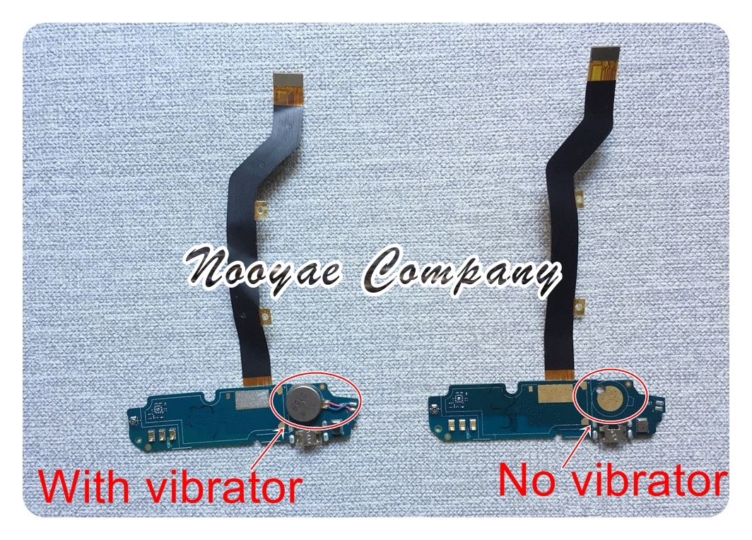 For ZTE BLADE X3 A452 Micro USB Charger Charging Port Connector Flex Cable Vibrator Microphone Connect Board + Track