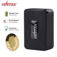 GPS Tracker Car TKSTAR 2g GSM Mini GPS Tracker Locator Magnet Voice Monitor 25 Days Standby Free Web App Vehicle GPS PK TK905
