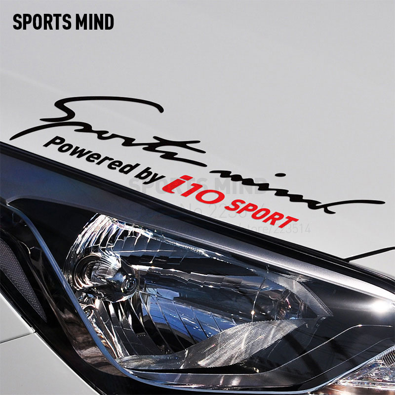 10 Pieces Sports Mind Car Covers Reflective Material Car Sticker Decal Car Styling For hyundai verna 2017 exterior accessories