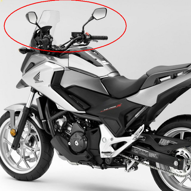 Free shipping Motorcycle Mirrors fits HONDA NC700 NC700S NC700X ...