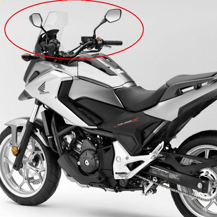 Free shipping Motorcycle Mirrors fits HONDA NC700 NC700S NC700X NC750 NC750X / S rearvie ...