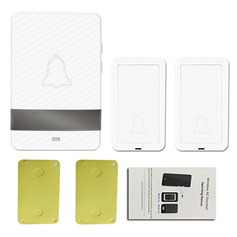 Wireless  2v1 Long  Distance   AC Doorbell Welcome Chime