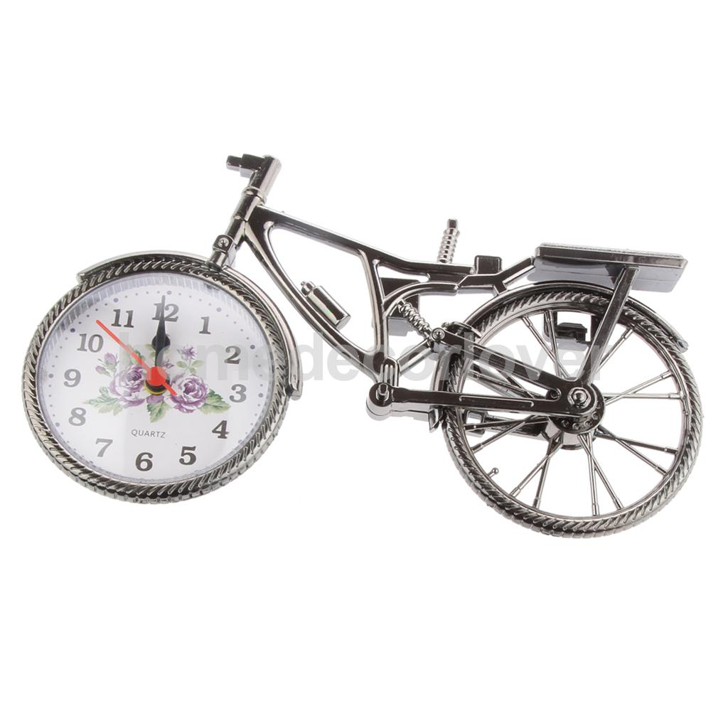 Creative Designed Bicycle/Yacht /Helicopter/Motorcycle Alarm Clock Wake Up Timer Room Decor Home Ornament Gift