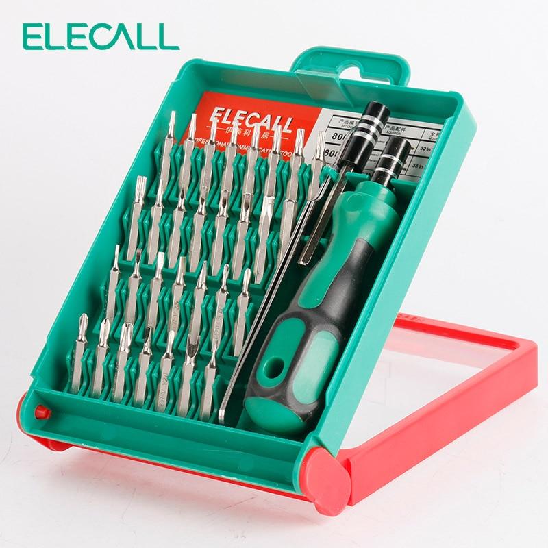 31 In 1 33 In 1 45 In 1 Screwdriver Set Multi Tool Interchangeable Torx Tweezer Extension Repair Tools Kit Box