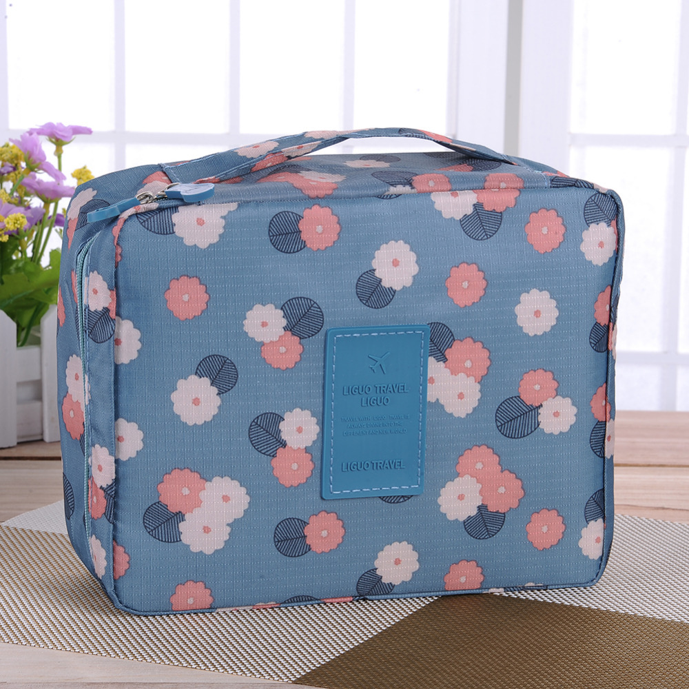Travel Cosmetic bag Make Up Storage bag Wash pouch waterproof Wash Tool Organizer large capacity Multi