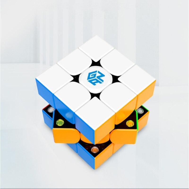Gan 54 MM longueur compétition éducatif apprentissage 3x3x3 vitesse Puzzle Cube Gan 3x3x3 défi vitesse Puzzle Cube Magico Cubo jouets
