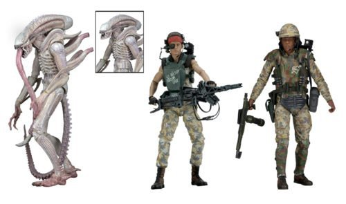New NECA Classic Sci Fi Movie Aliens Series 9 Xenomorph Albino Alien Private Jenette Vasquez