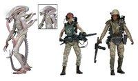 New NECA Classic Sci Fi Movie Aliens Series 9 Xenomorph Albino Alien Private Jenette Vasquez Ricco Frost 7 Action Figure