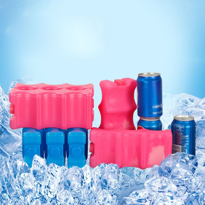 600ml Reusable Ice Brick Ice Block Ice Pack Cooler Milk Storage For Cooler Bag #415