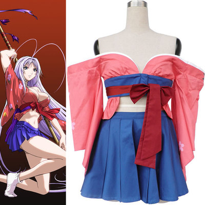 Mayo Cosplay Women Costumer Dress Comeliness Heaven and Earth Outfit New Product B44