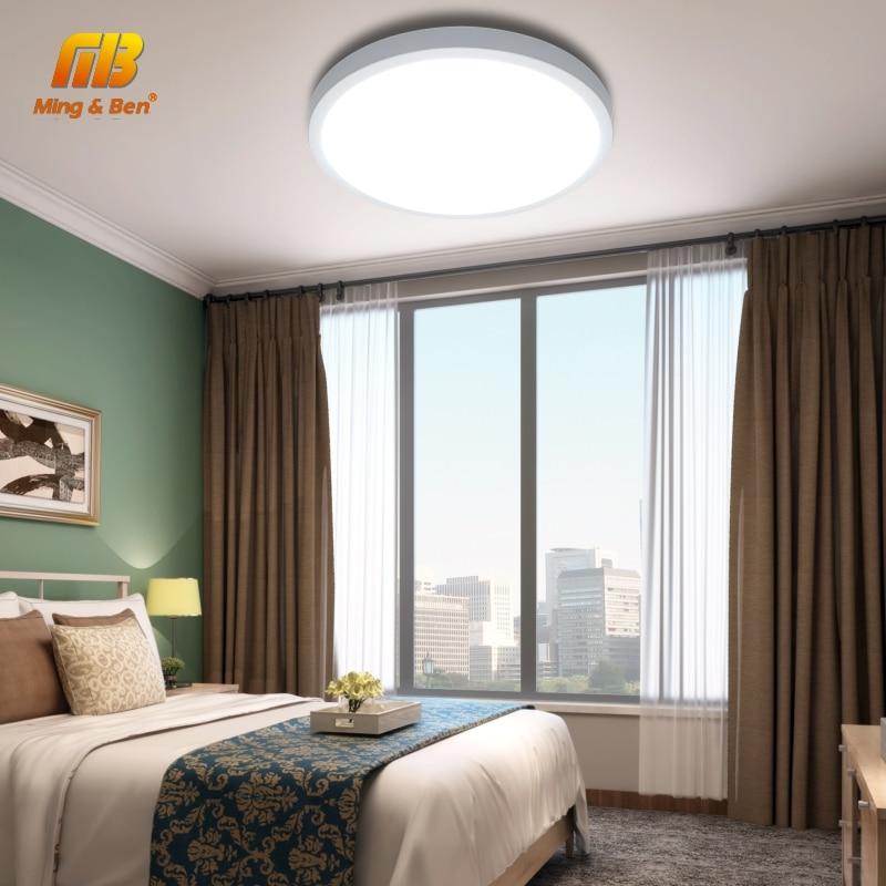 Ultra Thin LED Ceiling Lamp LED Modern Panel Light 48W 36W 24W 18W 9W 6W 85-265V Bedroom Kitchen Surface Mount Flush Panel Light 5