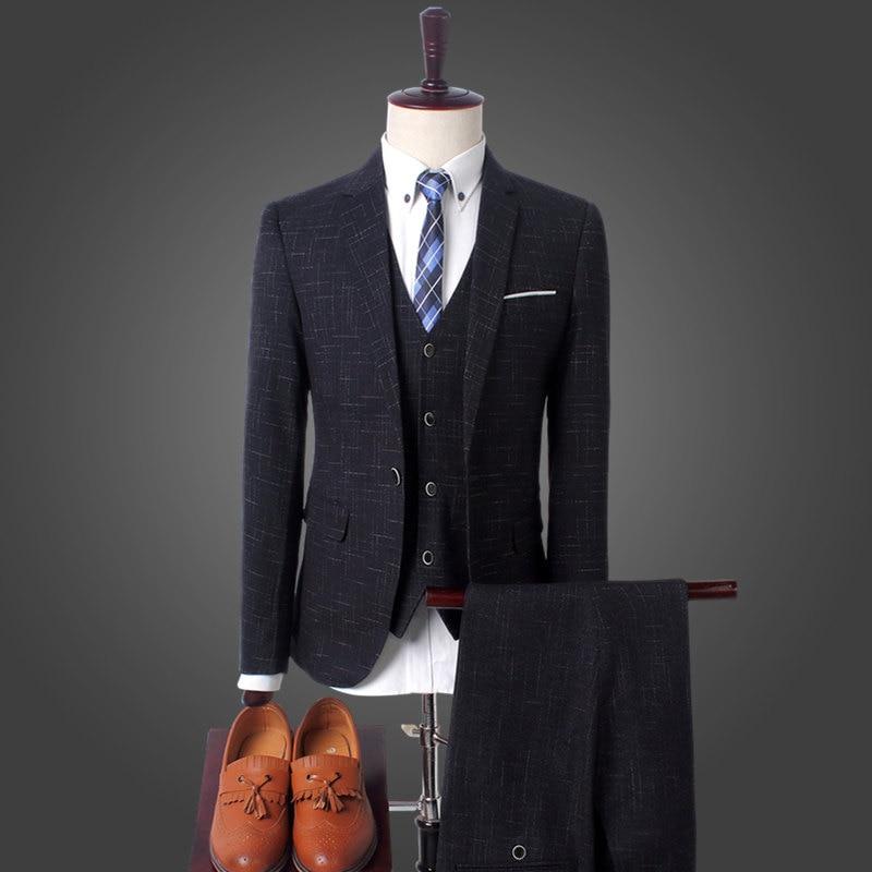2017 зеленый синий смокинг для жениха Нотч Для мужчин костюмы Бирюзовый жених свадьба ужин best Мужские костюмы (куртка + брюки + галстук + жилет) - 2