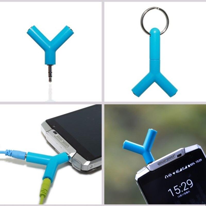 Разветвитель для наушников 3,5 мм, наушники с разъемом для мужчин и женщин, y-образный Разъем для Iphone, проводная гарнитура, аксессуары TSLM1