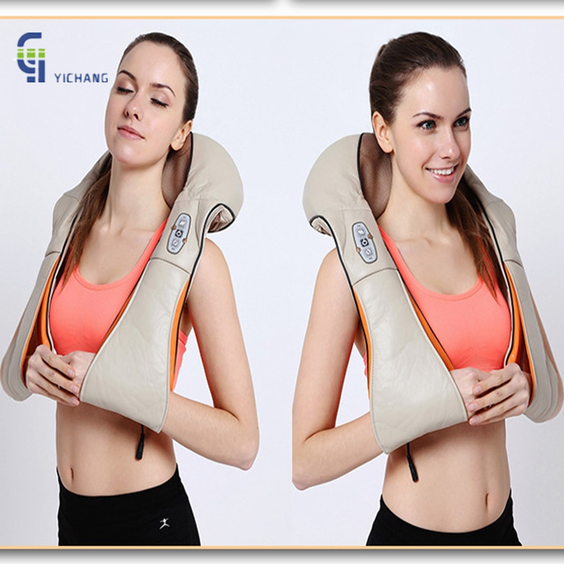 Health Care Kneading Massage Pillow Massage Shawls Car Home U Shape Electrical Neck Shoulder Body Massager 3D infrared home health care instrument chinese body massage device neck massager red light heating kneading massage shawl 120804