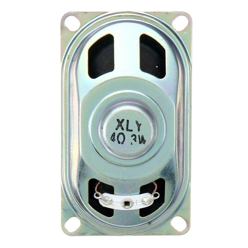 LEORY 4070 Mini Speaker Unit Driver Horn 3W4R Mini Replacement Horns Speaker Unit Loudspeakers 4 Ohm 3W 70x40mm