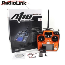 RadioLink AT10 II RC Transmitter 2 4G 12CH Remote Control System with R12DS Receiver for RC