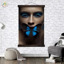 Butterfly Effect Girl Modern Canvas Art Prints Poster Wall Painting Scroll Artwork Pictures Home Decoration