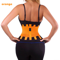 Neoprene Sports Waist Support Ajustable Waist Support Brace Fitness Gym Lumbar Back Waist Supporter Protection Free Shipping
