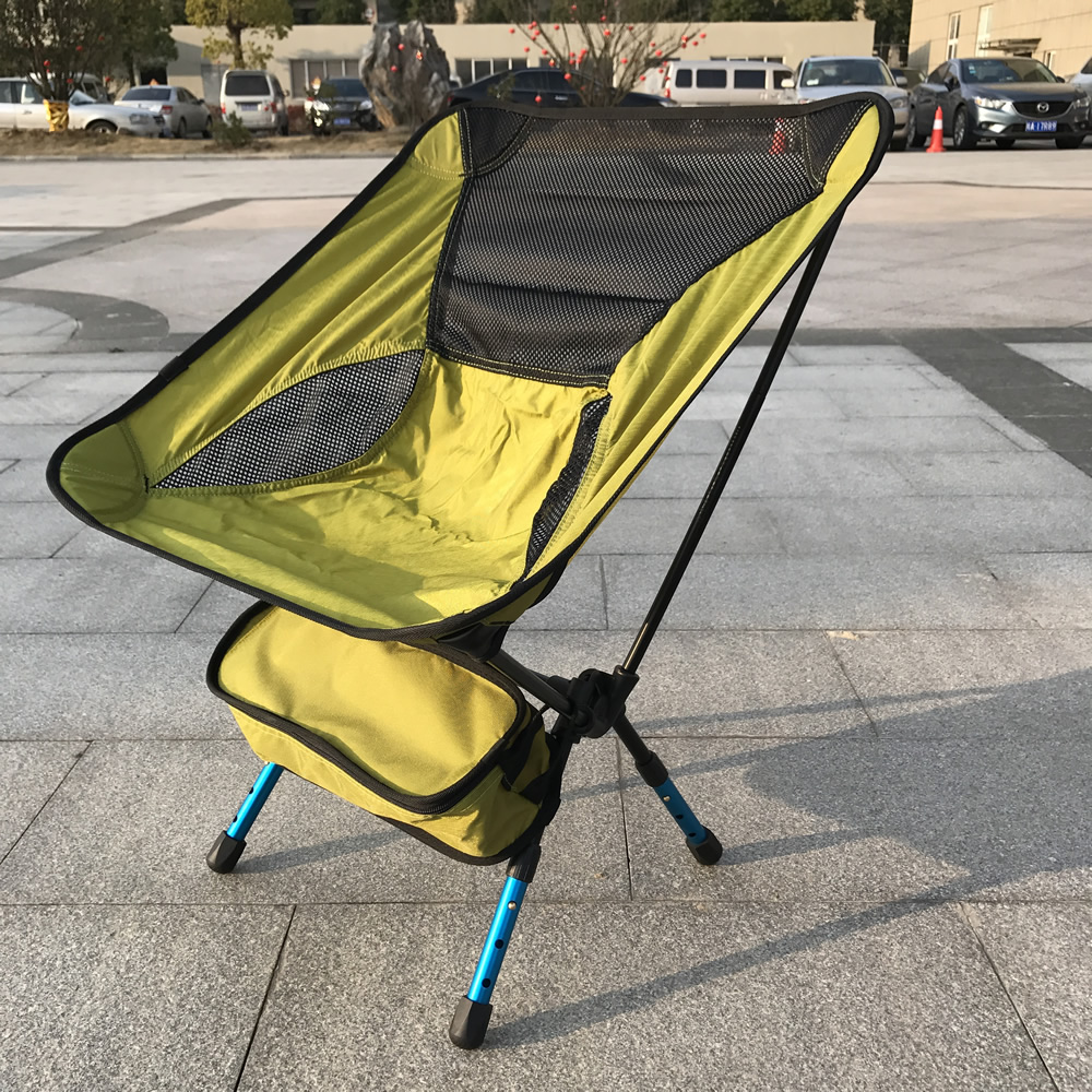 Vintage camping chair - Portable Assembled Chair Folding Ultralight Durable Aluminium Seat Stool Fishing Camping Hiking Gardening Beach Outdoor Red