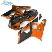 Verkleidungen kits für SUZUKI GSXR 600 R750 2004 2005 ABS sport verkleidung kit 04 05 GSXR750 GSXR 600 K4 K5 orange schwarz