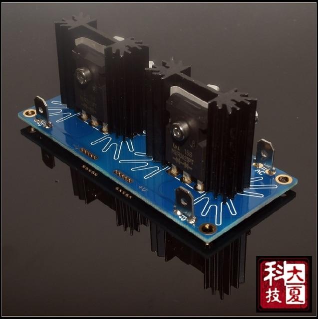 Nuevo amplificador de potencia Clase A Kit rectificador de potencia rápido y tablero terminado rectificador Schottky