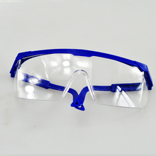 Free Shipping PC goggles Glasses Labour Protection Eye Protection Dustproof Sprayproof Glasses Safety