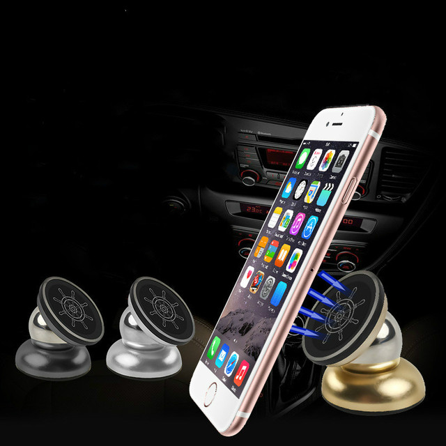 bd7cf20bc16bf Universal Magnetic Car Air Vent tablet Phone Holder 360 Magnet Mobile Phone  Stand For iPhone Samsung Cell Phone Bracket