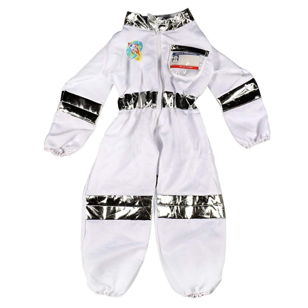 Bobasatop Children 39 s Astronaut Costume Dress up Role Play Set for Kids Boys Girls with a Free America Flag Pin