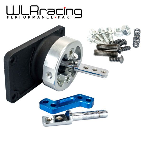 WLR RACING - ALUMINUM RACING SHORT THROW SHIFTER FOR 83-04 FORD MUSTANG T5 T-45 W/OD BLACK WLR5305 racing throw quick short shifter